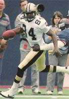 Eric Martin of the New Orleans Saints