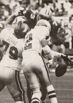 Frank Warren 1992 New Orleans Defensive End