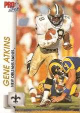 Gene Atkins, 1992 New Orleans Saints Defensive Back