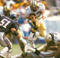 Gil Fennerty of the 1991 New Orleans Saints