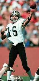Kenny Stabler, New Orleans Saints Quarterback