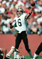Kenny Stabler, New Orleans Saints Quarterback 1982-1985