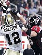 Marques Colston - New Orleans Saints All-Time Leading Receiver