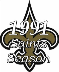 New Orleans Saints 1991 NFL Season