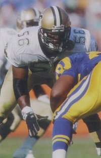 Pat Swilling of the Dome Patrol in 1991