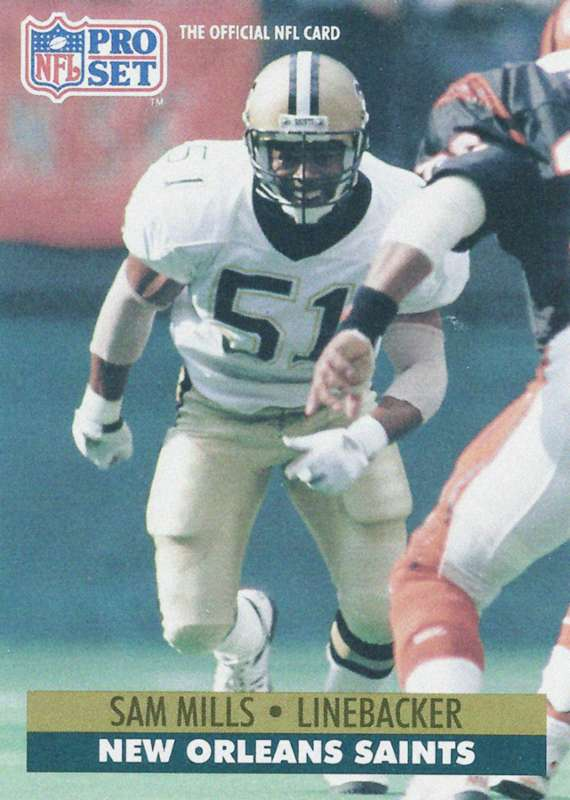 Sam Mills 1991 New Orleans Saints