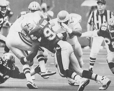 Wayne Martin, Defensive End of the 1992 New Orleans Saints Dome Patrol