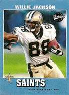 Willie Jackson, New Orleans Saints Wide Receiver 2001-2002