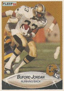 Buford Jordan ofthe 1990 New Orleans Saints