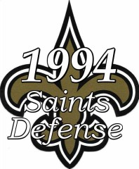1994 New Orleans Saints Defense