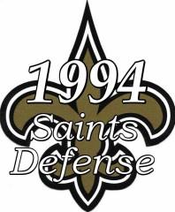 1994 New Orleans Saints Defense