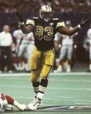 Wayne Martin, 1994 New Orleans Saints Dfensive End