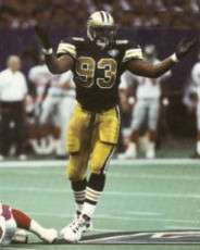 Wayne Martin, 1994 New Orleans Saints Defensive End
