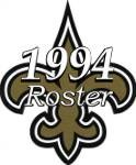 New Orleans Saints 1994 NFL Season Team Roster