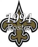 New Orleans Saints 1994 NFL Season Team Roster