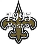 New Orleans Saints 1995 NFL Season Team Roster