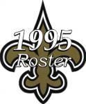New Orleans Saints 1995 NFL Season Team Roster