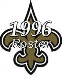 New Orleans Saints 1996 NFL Season Team Roster