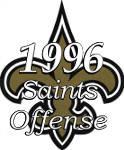 1996 New Orleans Saints Offense
