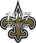 New Orleans Saints 1997 NFL Season Team Roster
