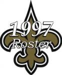 New Orleans Saints 1997 NFL Season Team Roster