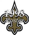 New Orleans Saints 1998 NFL Season Team Roster