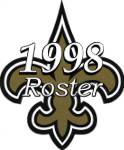 New Orleans Saints 1998 NFL Season Team Roster