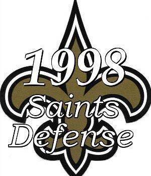 1998 New Orleans Saints Defense