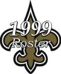 New Orleans Saints 1999 NFL Season Team Roster