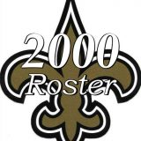 2000 New Orleans Saints NFL Season Team Roster