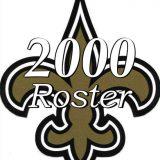 New Orleans Saints 2000 NFL Season Team Roster