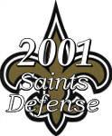 2001 New Orleans Saint Defense