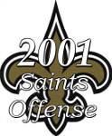2001 New Orleans Saints Offense