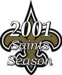 2001 New Orleans Saints Season