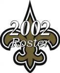 New Orleans Saints 2002 NFL Season Team Roster