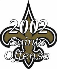 2002 New Orleans Saints Offense