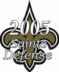 2005 New Orleans Saints Defense