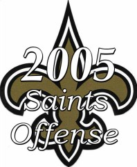 2005 New Orlean sSaints Offense