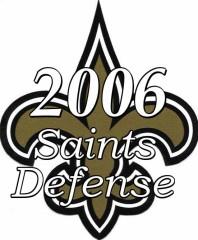 2006 New Orleans Saints Defense