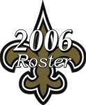 New Orleans Saints 2006 NFL Season Team Roster