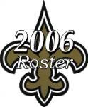 New Orleans Saints 2006 NFL Season Team Roster