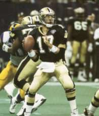 1994 New Orleans Saints Quarterback Jim Everett