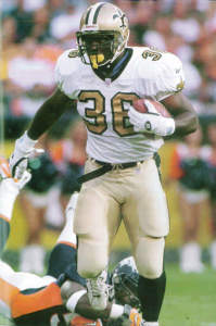 New Orleans Saints Runningback Lamar Smith