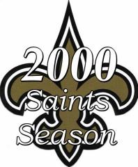 The New Orleans Saints 2000 NFL Season