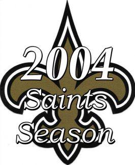 2004 New Orleans Saints Season