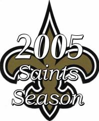 2005 New Orleans saints NFL season
