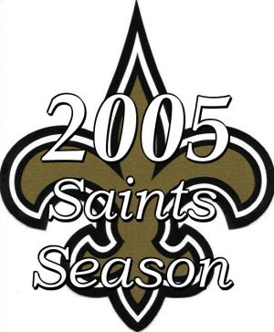 2005 New Orleans Saints Season