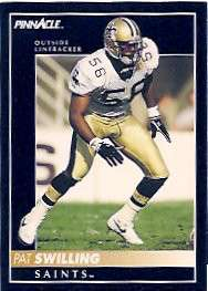 Pat Swilling, New Orleans Saints Linebacker and Dome Patrol Defender