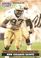Reanaldo Turnball of the New Orleans Saints