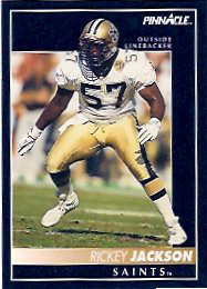 Rickey Jackson of the New Orleans Saints Dome Patrol